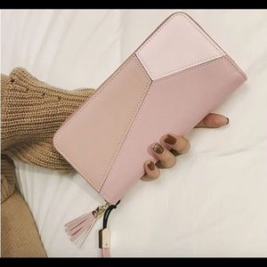 Handbags - Pink elegant women wallet